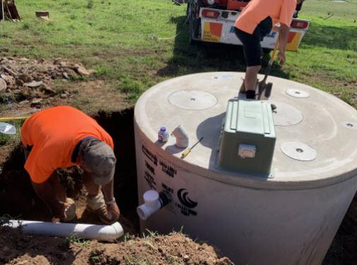 Tank Installation