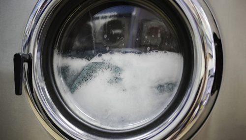 Laundromat Close-Up