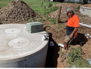 sewage production